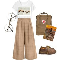 A fashion look from September 2016 featuring Toast t-shirts, Dr. Martens shoes and Fjällräven backpacks. Browse and shop related looks.