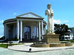 Congo: the first one on TE! - Brazzaville, Brazzaville- Republic of the Congo South London, Republic Of The Congo, Colonial, Gazebo, Africa, Outdoor Structures, Illustrations, Mansions, House Styles