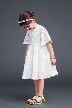 dolce-and-gabbana-winter-2015-child-collection-14 all lace dress- so  lovely