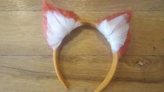 Diy yarn animal ears