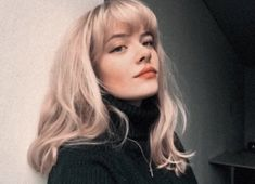 New hair goals hairstyles bangs ideas Hairstyles With Bangs, Pretty Hairstyles, Classy Hairstyles, Style Hairstyle, Hair Inspo, Hair Inspiration, Corte Y Color, Grunge Hair, Dream Hair