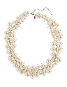 Timelessly graceful, every woman should own a row of pearl effect beads like these.