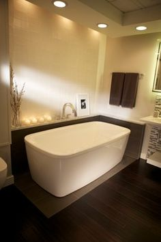Stand Alone Tub Design Ideas, Pictures, Remodel and Decor