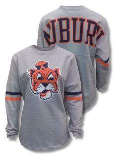 Grey+Medium+Weight+Ladies+Sweatshirt+with+Beanie+Tiger+on+Front