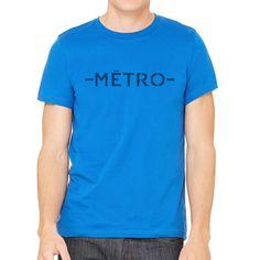 """""""Simply Metro"""" Short Sleeve Crew Neck"""