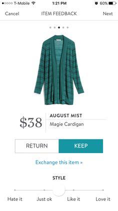 August Mist: Magie Cardigan ((Fix #9))
