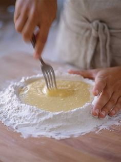 How to Make Pasta Dough by Hand - 4