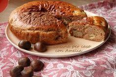 Torta di ricotta e castagne, ricetta   Cucina per caso con Amelia