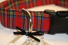 Christmas Tartan Collar