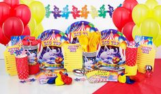 Circus Ultimate Party in the Box $64.95 caters for 8 guests
