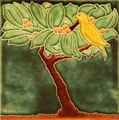 Berry Tree, Motawi Tile