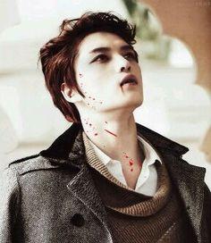 He's vampire