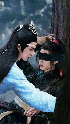 Lan chan & We wixian Cute Gay Couples, Anime Couples, Manhwa, Dramas, Gay Aesthetic, Matou, The Grandmaster, Fujoshi, Anime Guys