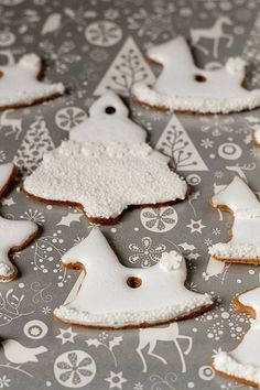 1466197_452464548205015_1168320731_n Gingerbread Cookies, Sugar, Christmas, Recipes, Noel, Gingerbread Cupcakes, Xmas, Recipies, Navidad