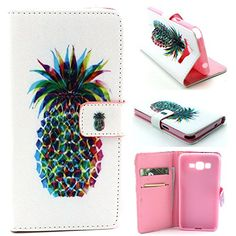 Samsung G530 Galaxy Grand Prime G530H Case, Vogue Shop PU Leather Wallet Case [Stand Feature] Type Magnet Design Flip Case Cover (Built-in Credit Card/ID Card Slot) Pu Leather, Leather Wallet, Samsung Grand, Thing 1, Cute Phone Cases, Slot, Random Stuff, Gadgets, Samsung Galaxy