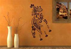 Wandtattoo Indien Henna Ein Schoenes Ornament
