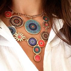 Fun, bold Desigual necklace