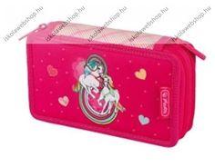 2 emeletes üres Flexi tolltartó, Rainbow Ló - Herlitz Rainbow Loom, Coin Purse, Lunch Box, Purses, Wallet, Handbags, Bento Box, Purse, Bags