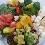 Vegan and Grain-Free Gluten-Free Soy-Free Black bean and Quinoa Burger