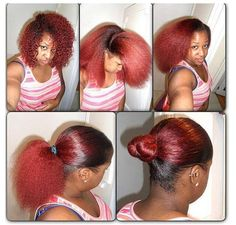 Love the color just wanna know how she makes her hair slick back and lay down with no frizz.