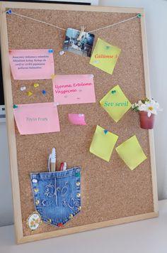 Cork board, eski kot pantalon değerlendirme, Mantar pano süslemeCork board, eski kot pantalon değerlendirme, MANTAR PANO, mantar pano süsleme, mantar pano yapımı, organizer yapımı,