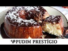 Pudim prestige of eating praying so delicious Portuguese Desserts, Portuguese Recipes, I Love Food, Good Food, Yummy Food, Confort Food, Cake Recipes, Dessert Recipes, Trifle Pudding