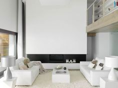 Beautiful Houses: Pure White Interior Design