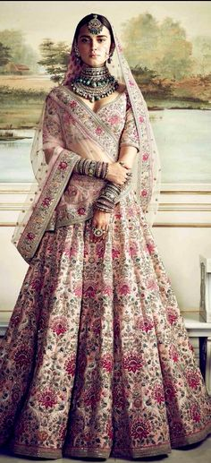 Are you Looking for Buy Indian Lehenga Choli Online Shopping ? We have Largest & latest Collection of Designer Indian Lehenga Choli which is available now at Best Discounted Prices. Indian Lehenga, Sabyasachi Lehenga Bridal, Silk Lehenga, Bollywood Lehenga, Pink Bridal Lehenga, Indian Saris, Bollywood Fashion, Sabyasachi Dresses, Latest Bridal Lehenga