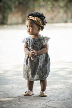 Myang Savannah pumps and matching headband Baby Girl Fashion, Toddler Fashion, Toddler Outfits, Boy Outfits, Kids Fashion, Toddler Girls, Cute Kids, Cute Babies, African Inspired Clothing