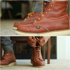 FASHION: I'm a fan of boots! There are so many that I want but the issue is always the price. For example, the Red Wing version of these boots are easily over $225 bucks then I came across these #Thorogood Moc Toe Wedge Boots! These retail at $150. Definitely not cheap by any means but they fit great, look great, keep the feet dry in wet weather and definitely cheaper than the Red Wings. I do believe that you get what you pay for but so far, I don't think I've sacrificed anything by going…