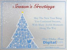 happy holidays from DigitalMR