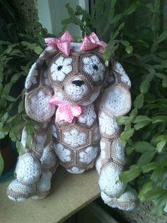 African flower dog