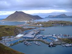 Dutch Harbor, Alaska.  The home port of the fishermen of the Deadliest Catch.