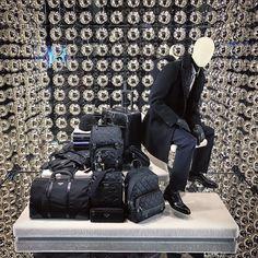 """PRADA, 5th Avenue, New York, """"The Journey is Inevitable"""", (Baggage Optional), pinned by Ton van der Veer"""