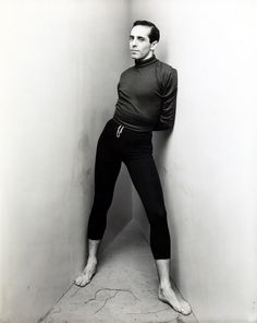 Jerome Robbins photographed by Irving Penn, 1948