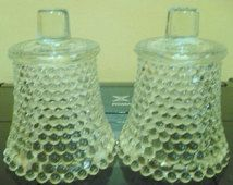 3 - Home Interior Clear Hobnail - Replacement Votive Cups - Picture Showing 2