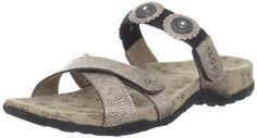 Taos Womens Oasis Slide SandalPenny Metallic11 M US *** This is an Amazon Affiliate link. You can get additional details at the image link.