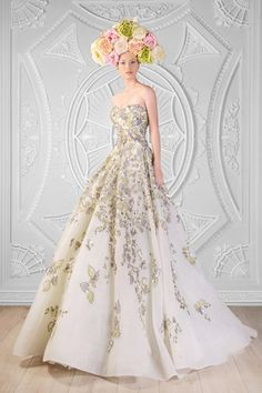 Gracefully Striking Rami Kadi wedding dresses. To see more: http://www.modwedding.com/2014/04/16/gracefully-striking-rami-kadi-wedding-dresses/ #wedding #weddings #fashion