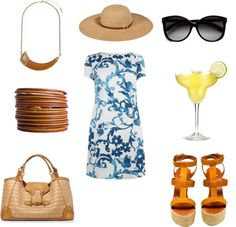 """Adult Spring Break"" by tarheeled on Polyvore"