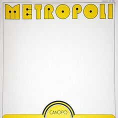 G. Serili - Metropoli (Vinyl, LP) at Discogs