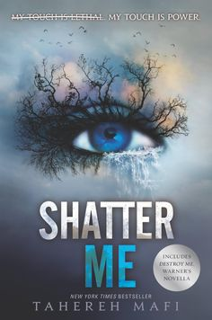 Shatter Me by Tahereh Mafi | Superior Young Adult Fiction | Book Review Ya Novels, Novels To Read, Ya Books, Good Books, Shatter Me Series, The Lunar Chronicles, Books For Teens, Teen Books, Love Book