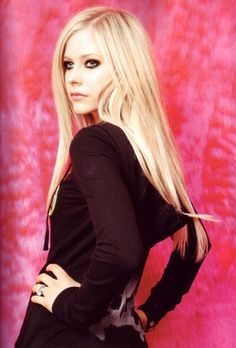 AVRIL LAVIGNE   Still my all time fave, I know every word to every single song. :)