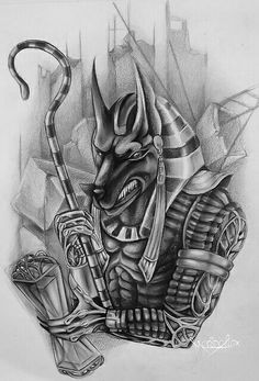 Egyptian Drawings, Egyptian Artwork, Tattoo Sketches, Tattoo Drawings, Egypt Tattoo Design, Body Art Tattoos, Sleeve Tattoos, Egyptian Tattoo Sleeve, Behind Ear Tattoos