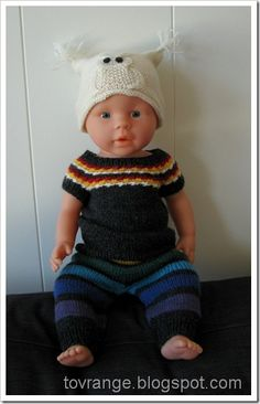 Doll Clothes, Crochet Hats, Beanie, Dolls, Outfits, Fashion, Outfit, Moda, La Mode