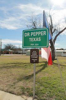 Dublin Dr Pepper, Texas
