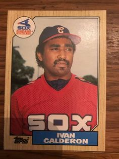 3bb0d090292 1987 Topps Traded Ivan Calderon Chicago White Sox 15T #ChicagoWhiteSox