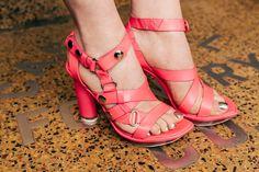 McQ pink sandals #AlexanderMcQueen