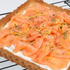 Hearty cake with Salmon