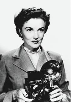 Image result for 1950's female reporter clipart