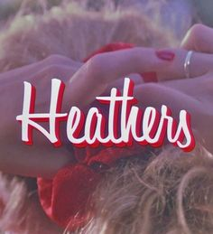 the red heathers scrunchie Movies Showing, Movies And Tv Shows, Heather Chandler, Heathers The Musical, Christian Slater, 80s Aesthetic, Film Inspiration, Romance Movies, Dear Diary